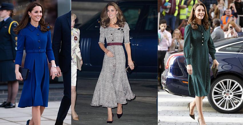 美周報|凱特王妃收腰洋裝