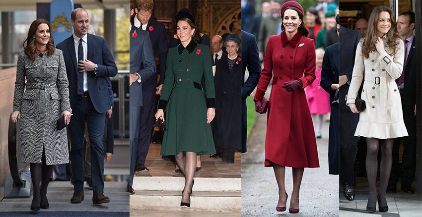 美周報|凱特王妃大衣式洋裝
