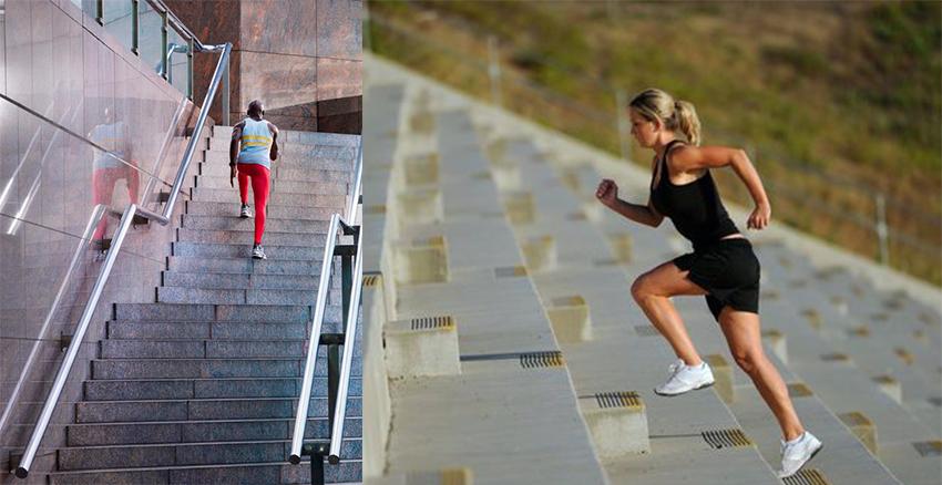 美周報|跑樓梯
