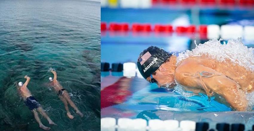 美周報|游泳