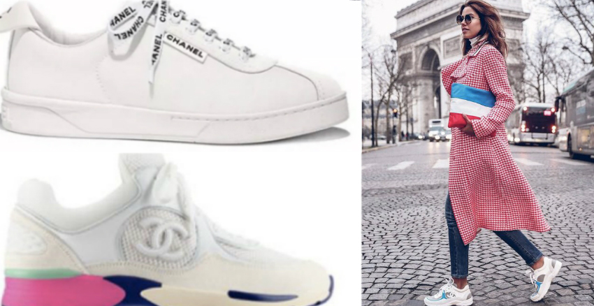 CHANEL小白鞋|美周報